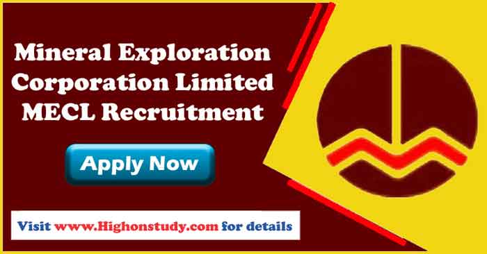 Mineral Exploration Corporation Limited Jobs