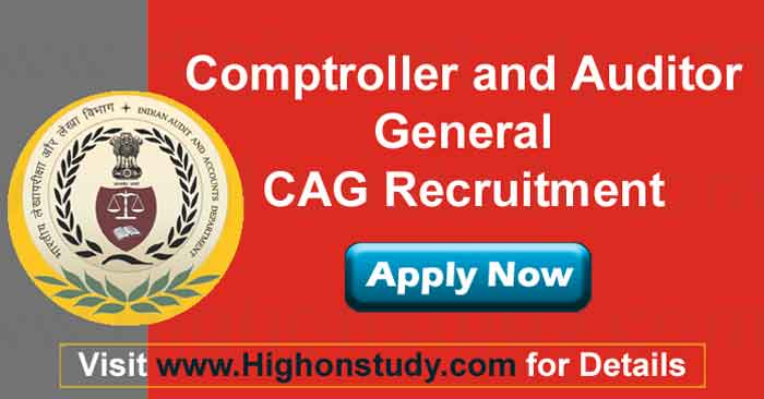 Comptroller and Auditor General (CAG) jobs