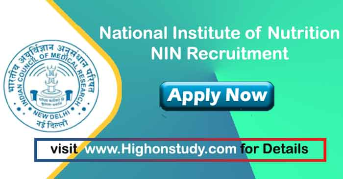 National Institute of Nutrition Jobs
