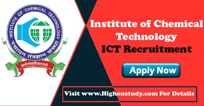 Institute of Chemical Technology jobs