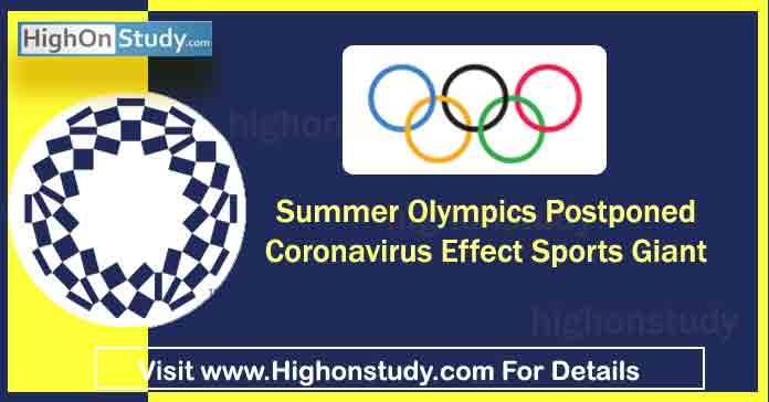 Summer Olympics 2020 Postponed » Coronavirus Effect Sports Giant